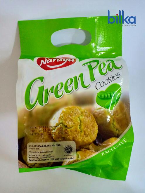 NARAYA COOKIES Green Tea 280g