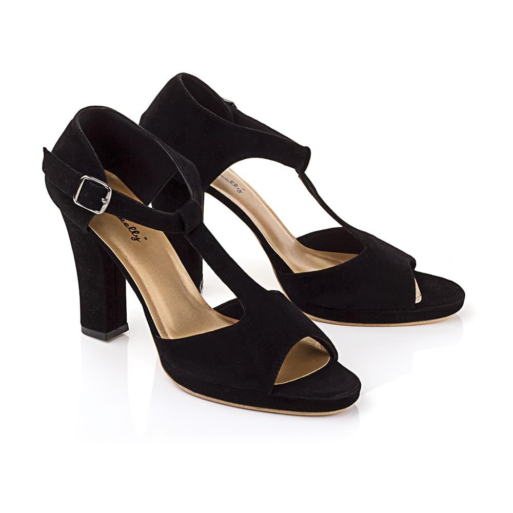 Jual High Heels Wanita Sepatu Fashion Bandung Berkualita Hitam ... 993228b27c