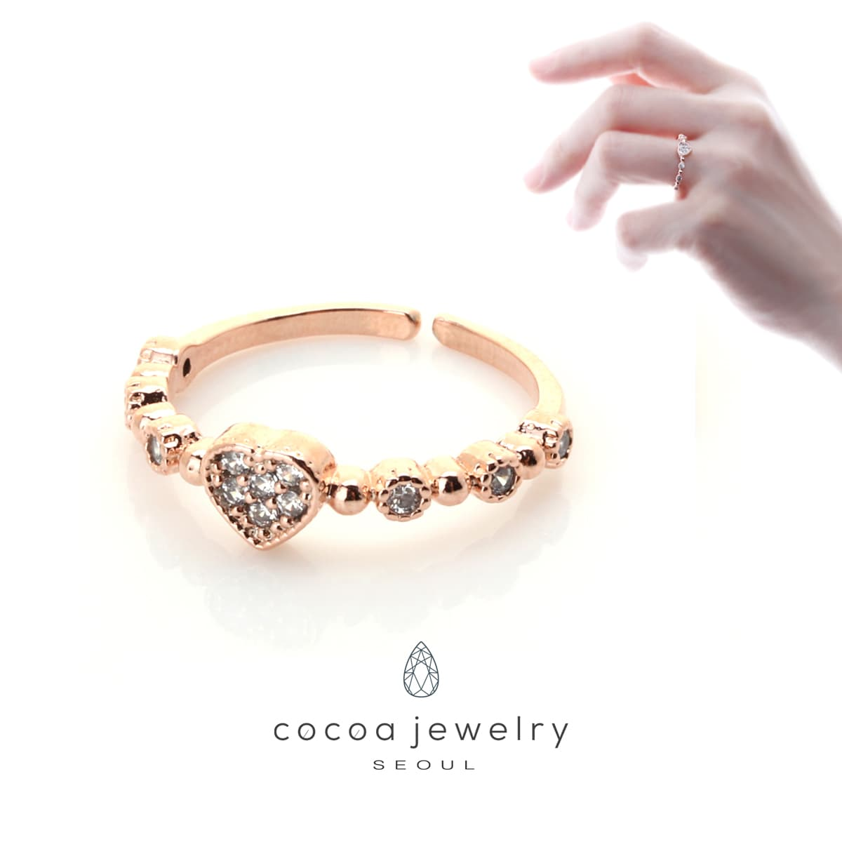 Jual Cocoa Jewelry This Love Ring The Special Gift Anting Elegant