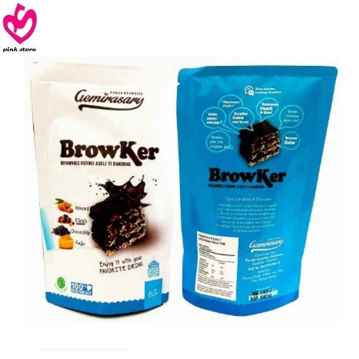 Browker Brownies Kering Gemirasary Ping!!! Ping!!! 65gr