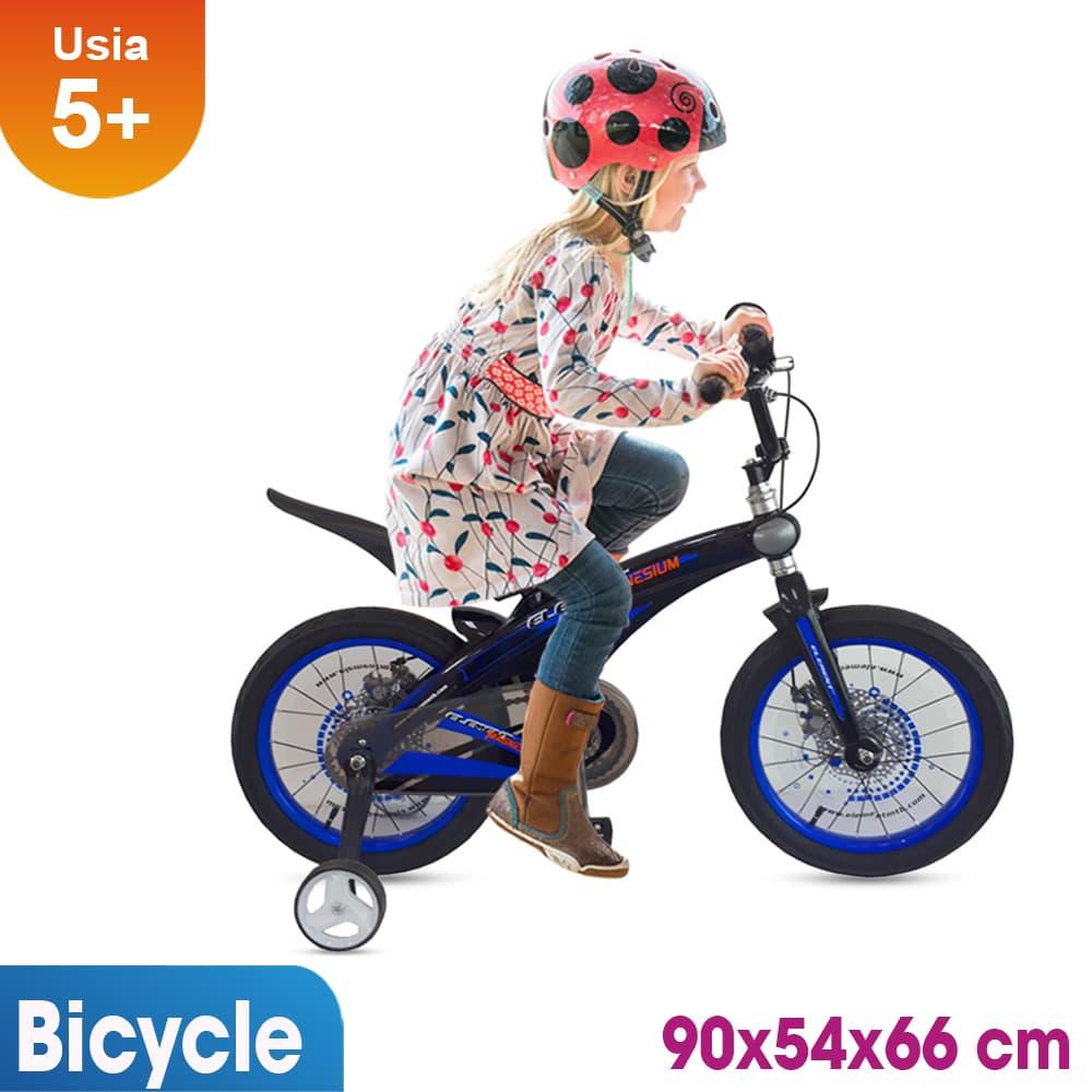 harga Sepeda Anak 16 Inch Rmb Magnesium Hitam Biru Blanja.com