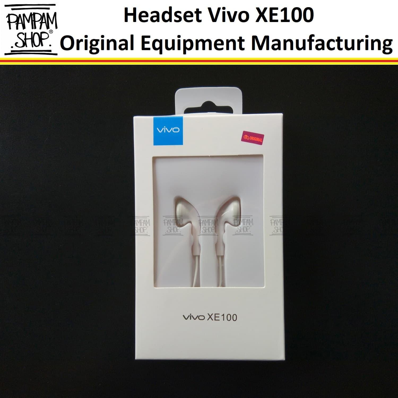 Jual Handsfree Headset Earphone Vivo Original Y53 V5 Plus Y21 V5s V7 V3 Y55 Pampam Shop Tokopedia