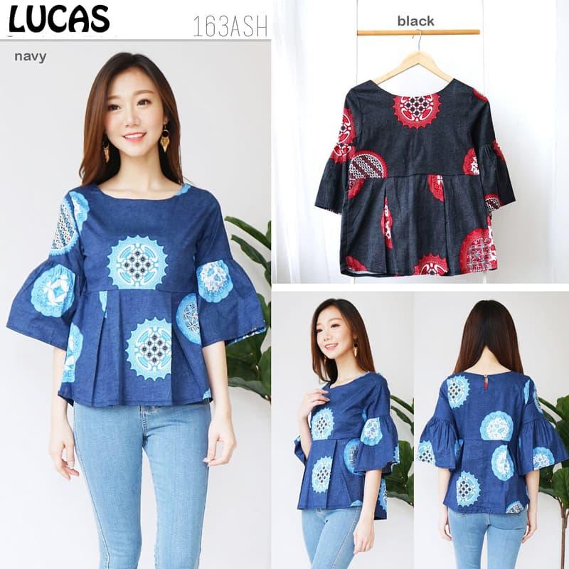 Jual Lucas Top - Baju Batik Wanita   Blouse Wanita   Atasan Wanita ... b88e84d0c5