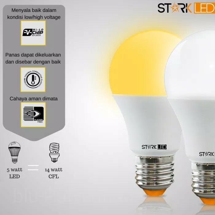 STARK LAMPU LED OMNI SERIES 5 WATT BUY 1 GET 1 ✓
