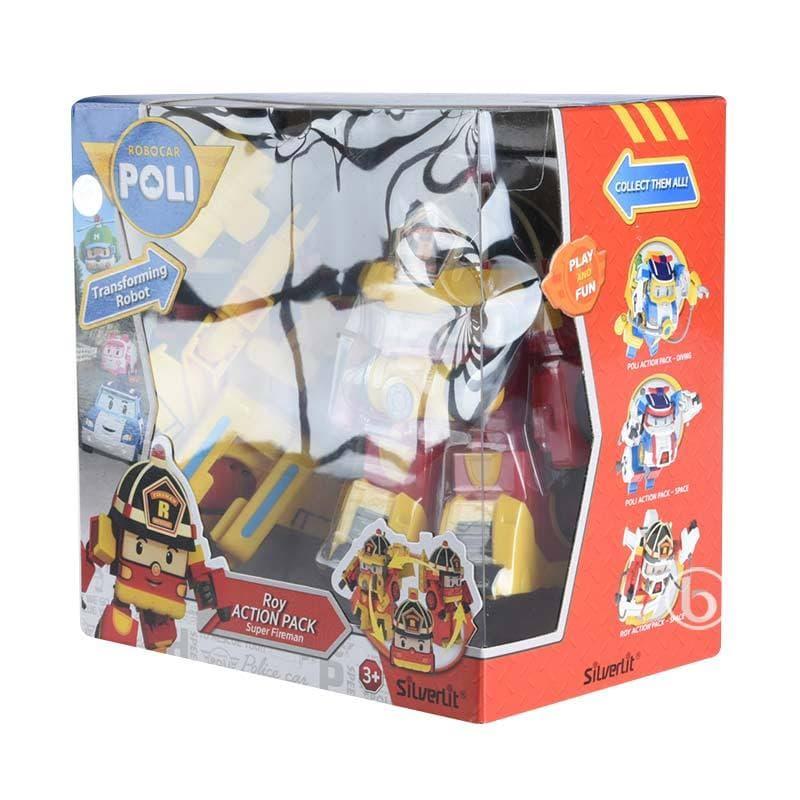 Robocar Poli - Roy Action Pack Space - Original - Blanja.com .