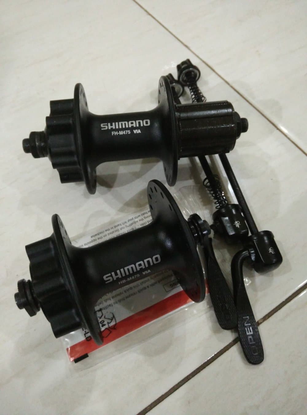 Jual Hub Freehub Sepeda Gunung Shimano M475 6 Bolt Toolkit 11 In 1 Hitam
