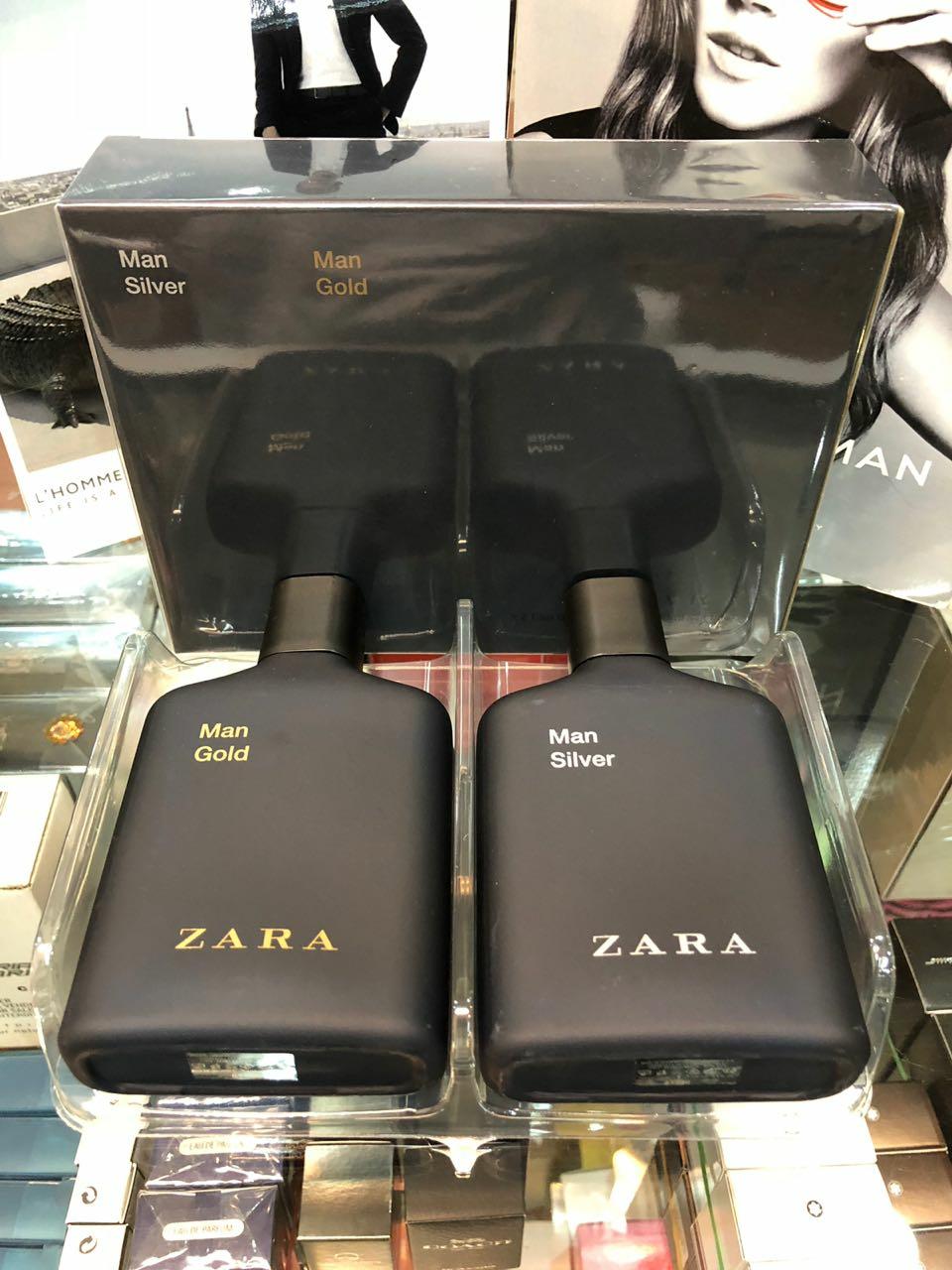 Original Man Jual Zara Isi Parfum Dan Silver Gold 2pcs NwkXZn08OP