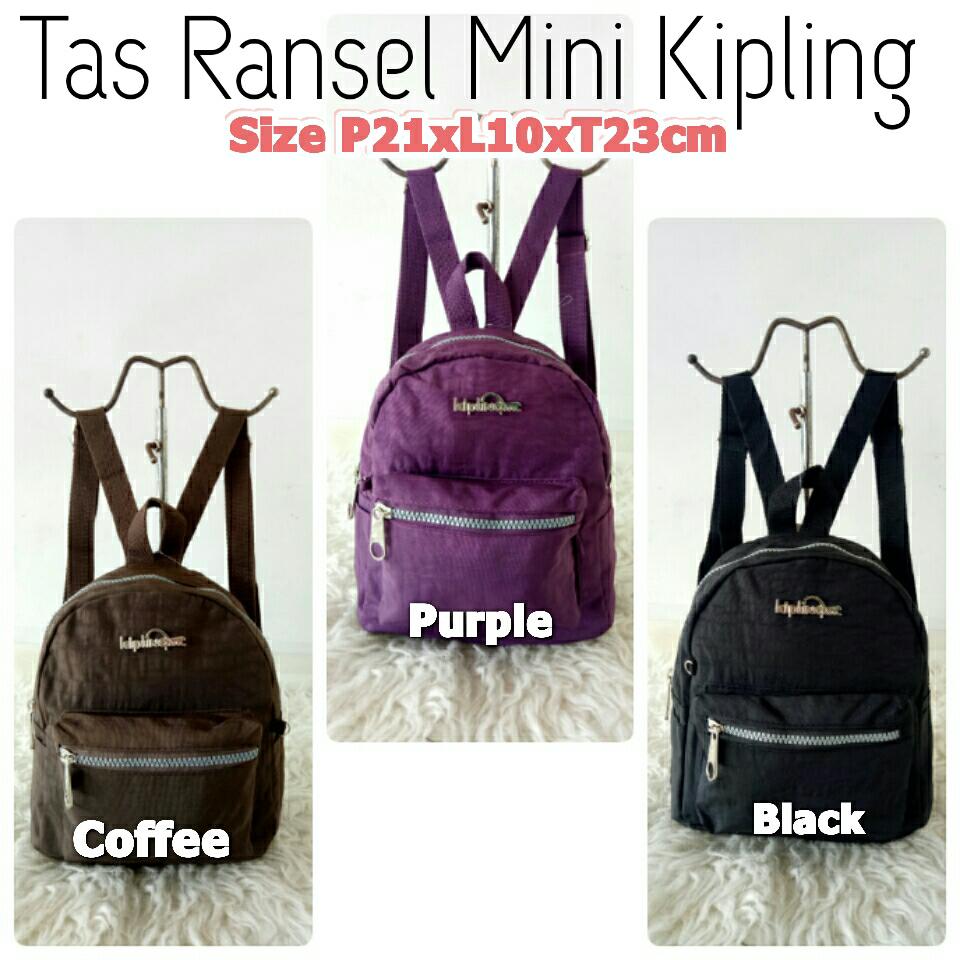 Jual Kp8340b Tas Ransel Mini Kipling Import Anak dewasa  19fce79534