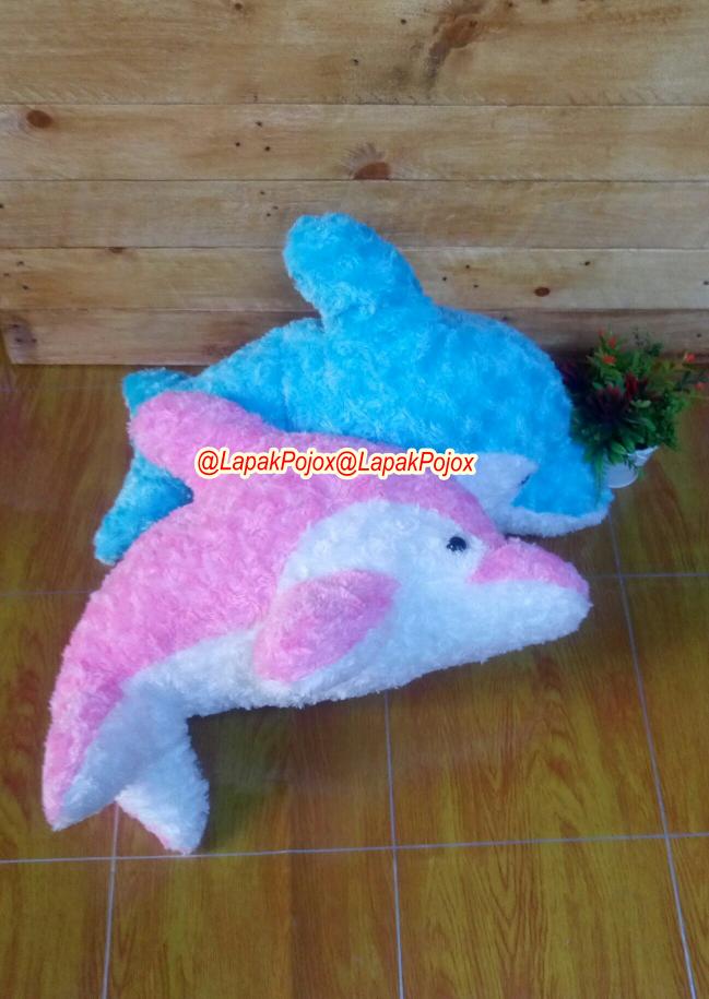 Jual Boneka Lumba-Lumba (Dolphin) Size M Lucu Berkualitas - Biru ... bfff696eb1