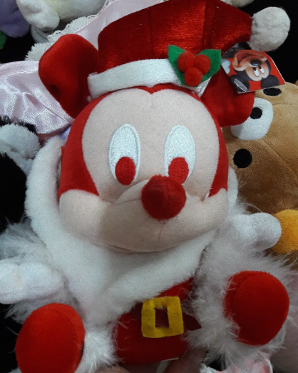 Jual Boneka Mickey Santa Disney - Charmydoll  ea6679e05a