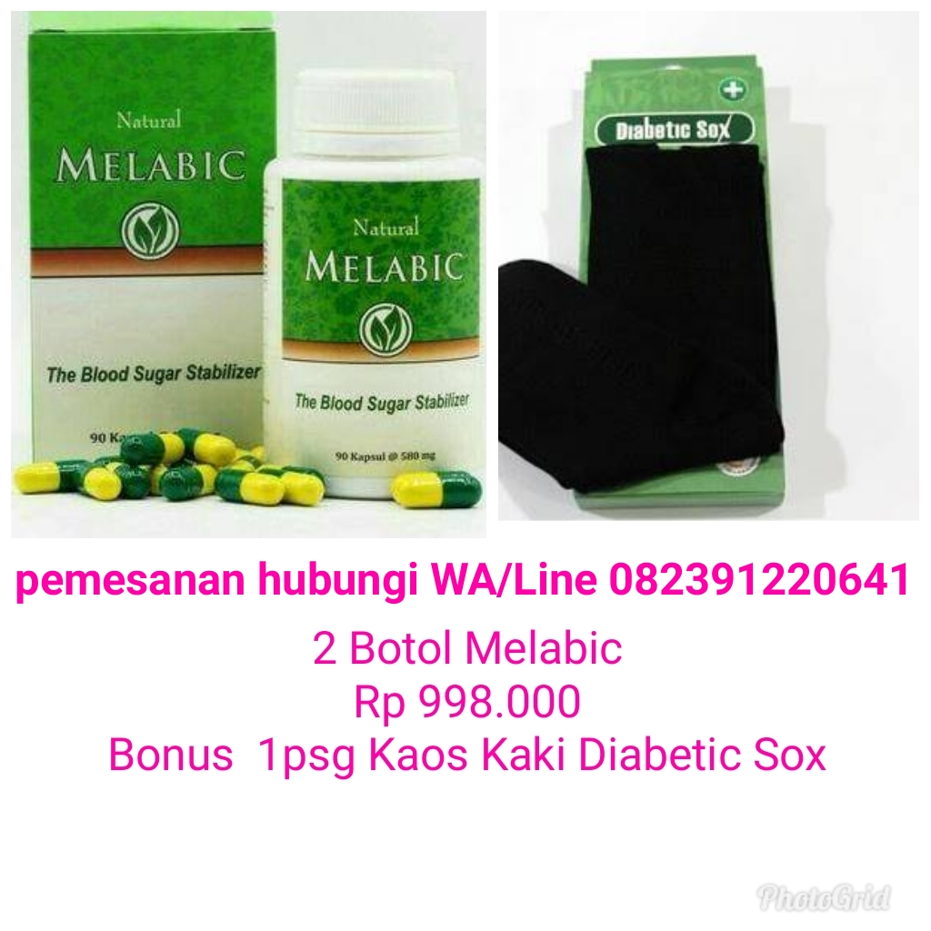 Jual Melabic Bungadahliashop Tokopedia Herbal 90 Kapsul The Blood Sugar Stabilizer