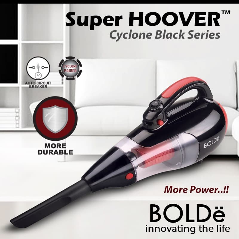 Bolde Super Hoover Cyclone Black ( Vacuum Cleaner ) - Blanja.com