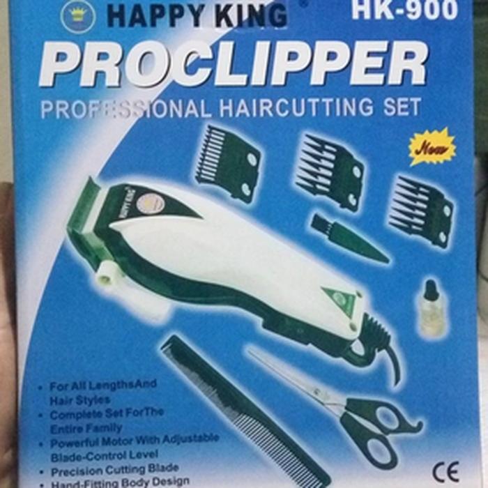 Jual proclipper happy king hk 900 alat cukur rambut hair clipper ... a4bdaf6282