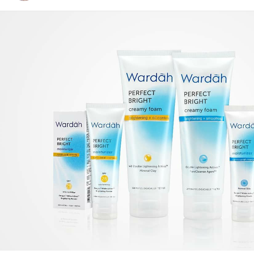 Jual Wardah Perfect Bright Brightening Oil Control Foam
