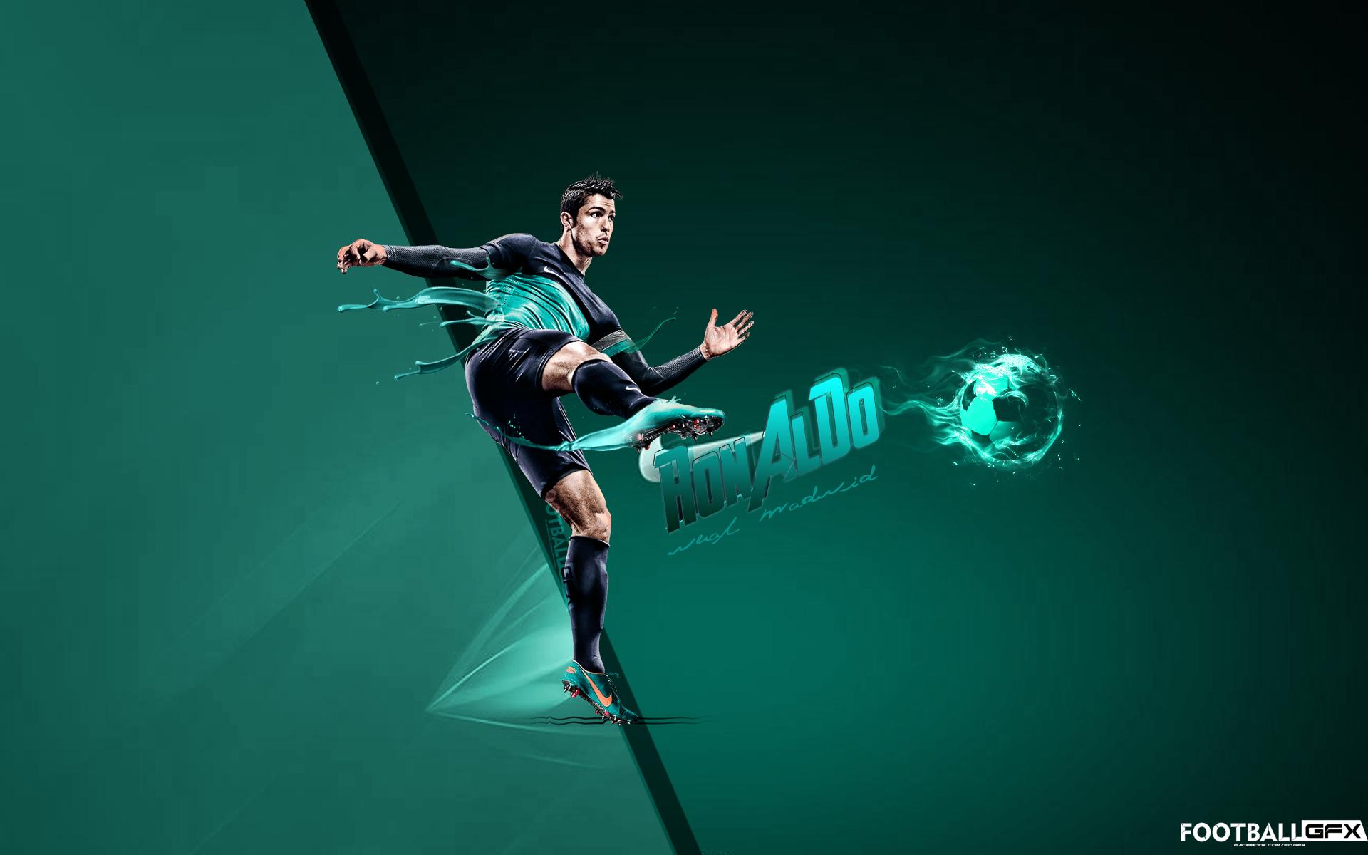 Dispersión hogar Pacífico  Cristiano Ronaldo Nike Poster