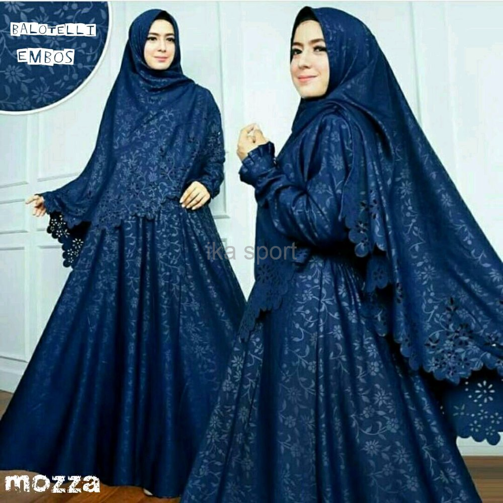 Jual TERLAKU BAJU Gamis Wanita Muslim New Mozza syari - Kota