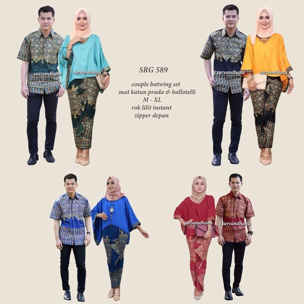 DISKON jual Baju Gamis Couple - Sarimbit Batik - Baju Pesta - Baju Kondangan a8c9b2043f