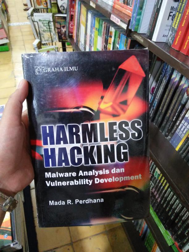 Jual Harmless Hacking Malware Analysis Dan Vulnerability Development - Kab   Bantul - Seribu Buku | Tokopedia