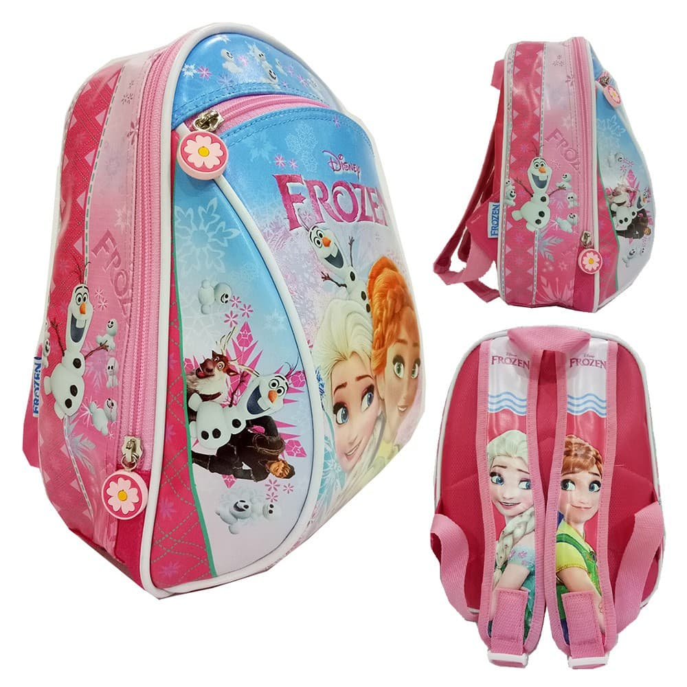 Jual Tas Anak Sekolah Baru Ransel Paut Frozen Cantik Bus Tayo Bahan Kain Sponge Mini Anti Air