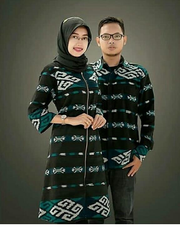 15 Trend Terbaru Model Baju Couple Kain Tenun Trend Couple