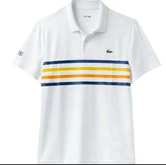 Jual polo shirt kaos kerah lacoste - Putih - Soeboer Makmoer Shop ... b95e88d570