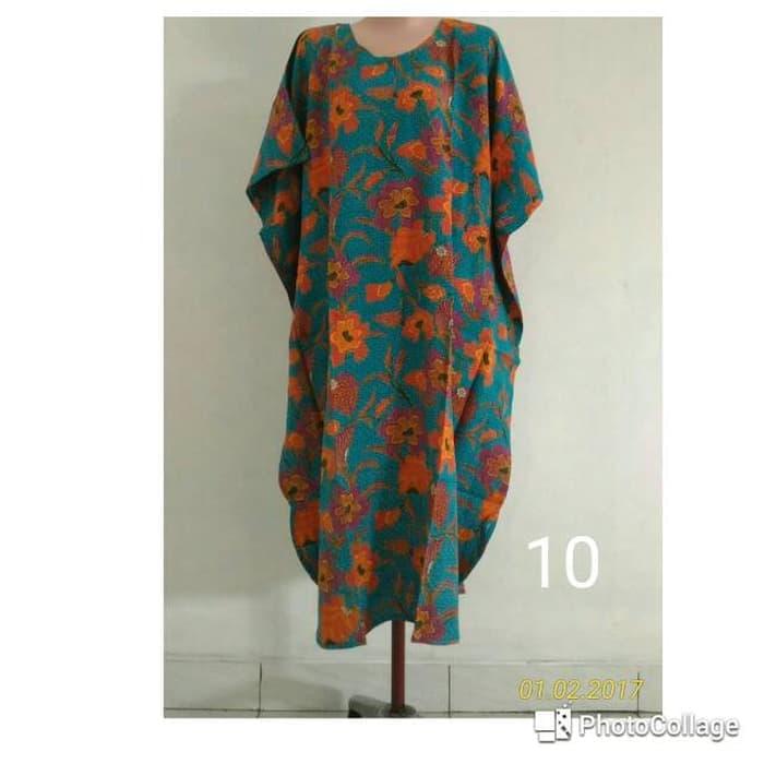 Grosir daster jumbo pendek batik kencana ungu daster kalong daster lo 22d49741e9