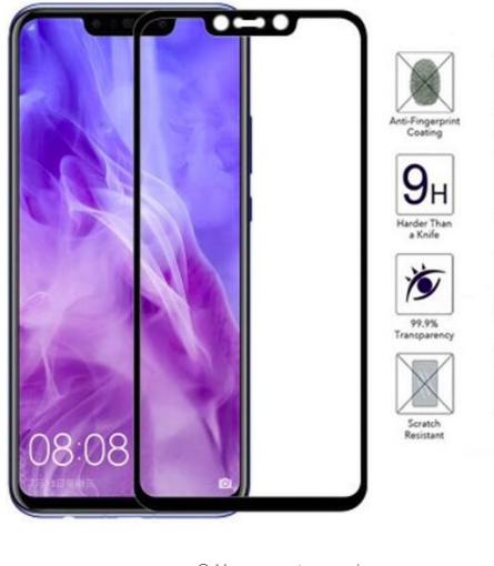 Jual Full Cover Tempered Glass Anti Gores Huawei Nova 3i Nova3i