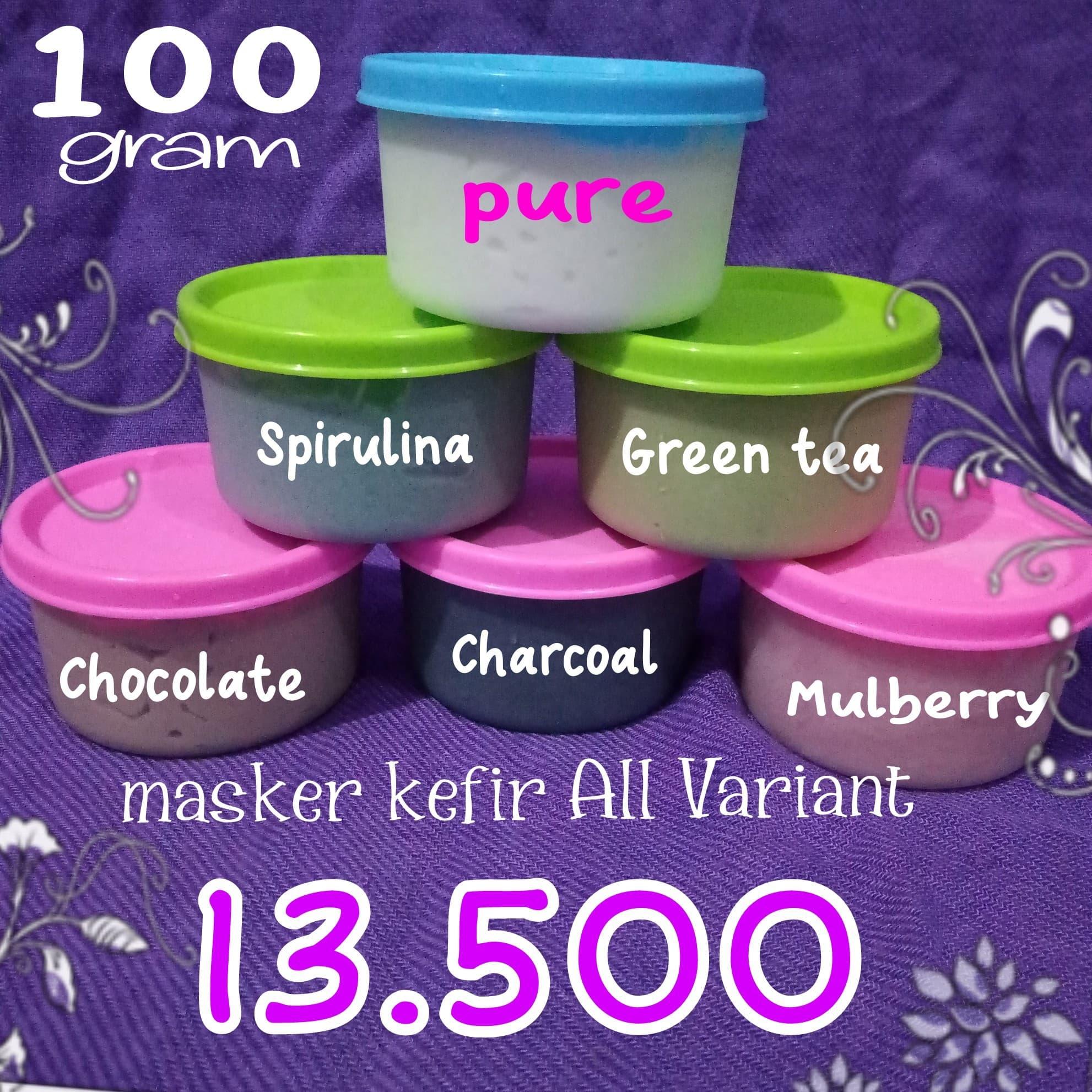 Jual Masker Kefir Organik Pure Original 100 Susu Sapi 100gr Loveableshop Tokopedia