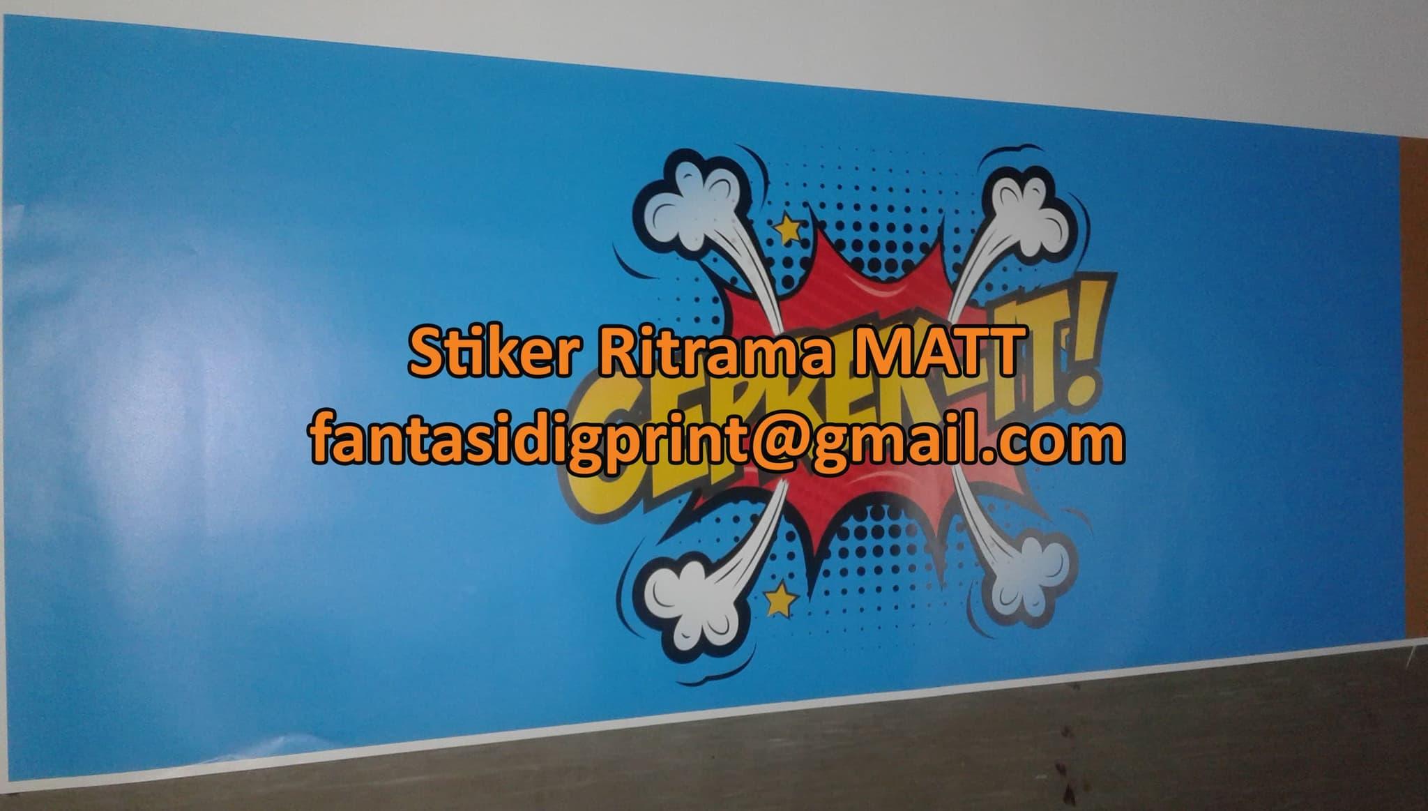 Matte Sticker Printing