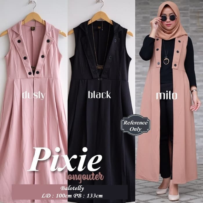 Pixie Long Outer - Blanja.com