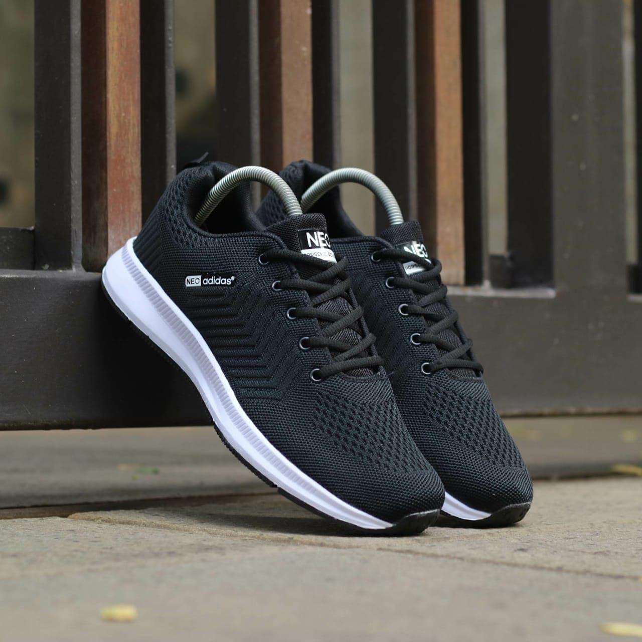 ... Sepatu Adidas Neo Import. Sepatu Pria. Sepatu Sport. Sneakers Adidas -  Hitam Putih a22e468e6c
