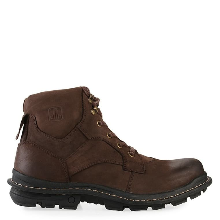 Jual Sepatu Boots Original Jim Joker Jeruk 1B Leather - Coffee - IYF Fashion | Tokopedia