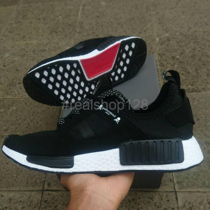fd19a1b64 Jual DISKON Sepatu Adidas NMD XR1 PK Mastermind Japan Black White ...