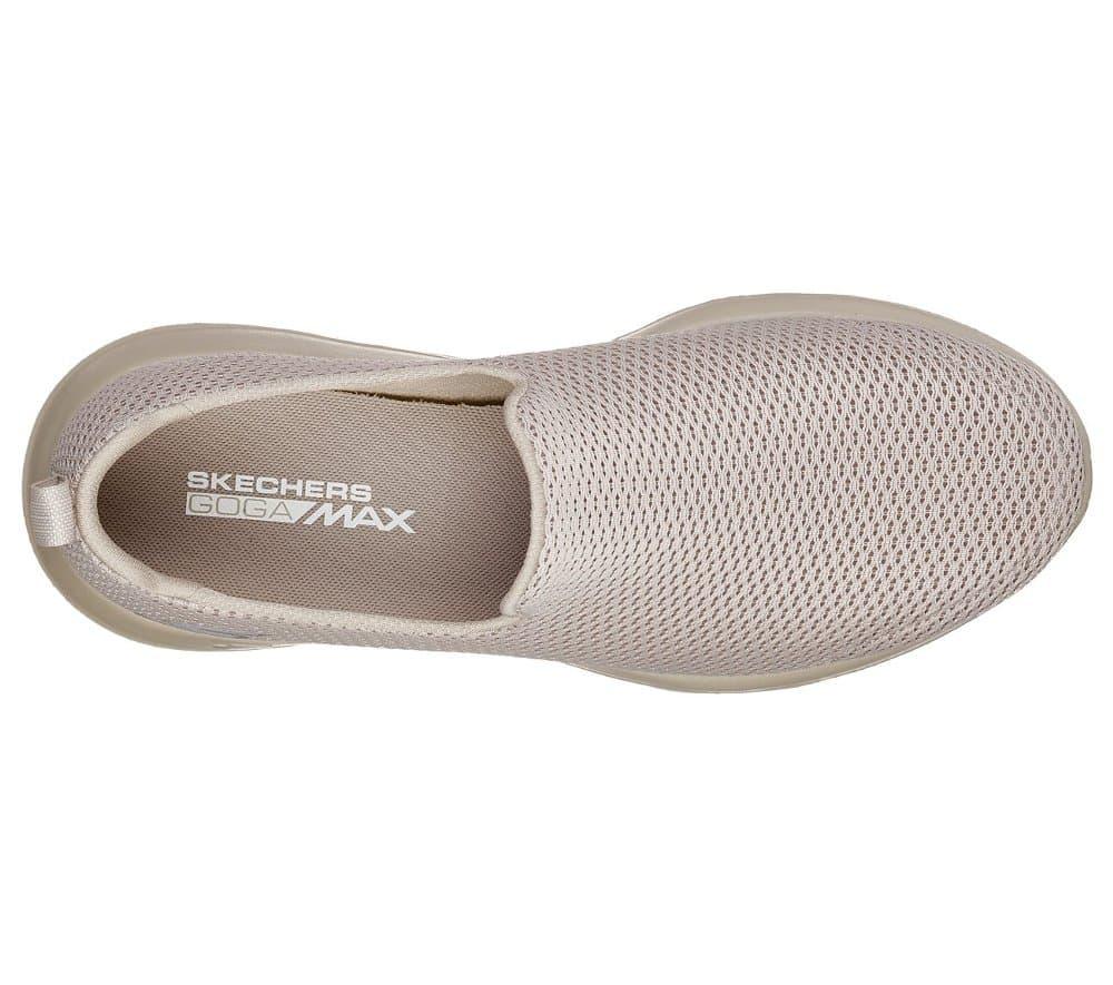 Sale Skechers Go Walk Max Taupe Sepatu Slip On Pria 54600tpe Original