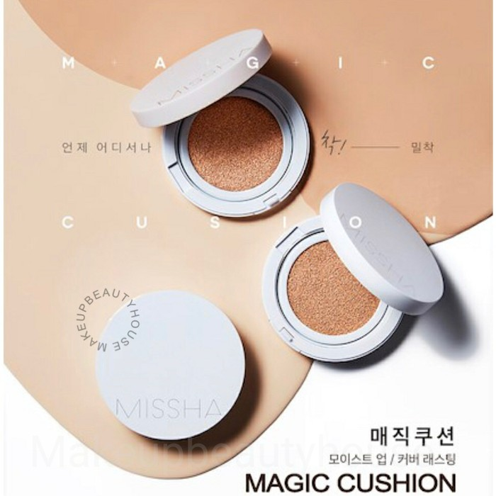 Jual Missha Magic Cushion Cover Lasting Spf50 Pa 2018 Edition 23 Medium Beige Beauty Pretty Tokopedia