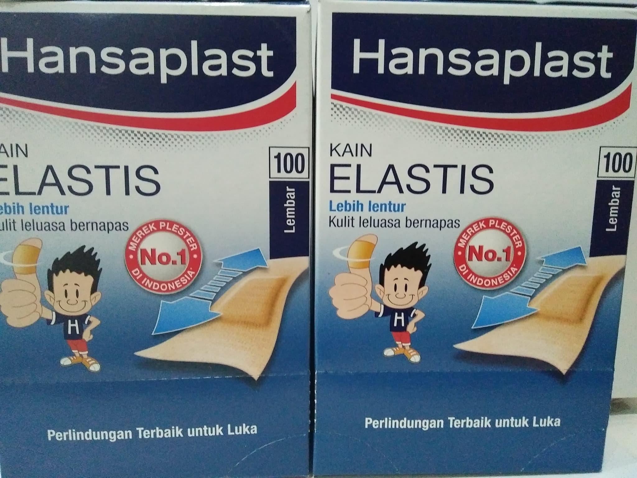Jual Hansaplast Elastis Box Isi 100 Farma Online Tokopedia