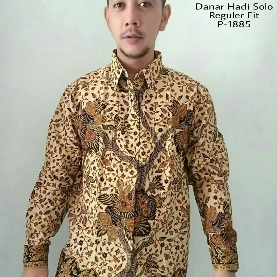 Danar Hadi Hem Batik Reguler Fit 1602. Source · Jual Original Batik Danar  Hadi Solo 77fd33dbf2