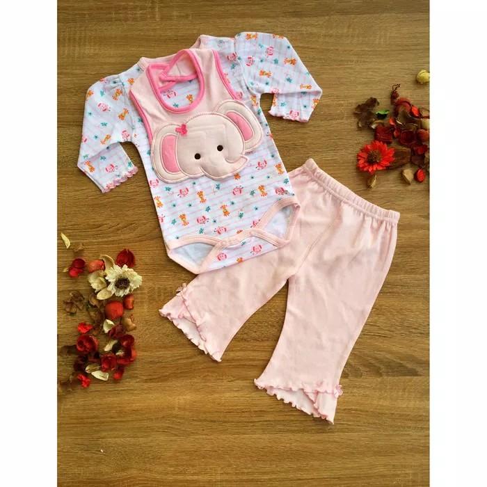 Baju bayi perempuan / romper jumper setelan anak bayi perempuan
