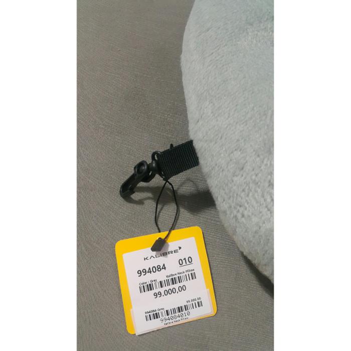 T2105 Kalibre Bantal Leher Abu Grey Neck Pillow 994084-010