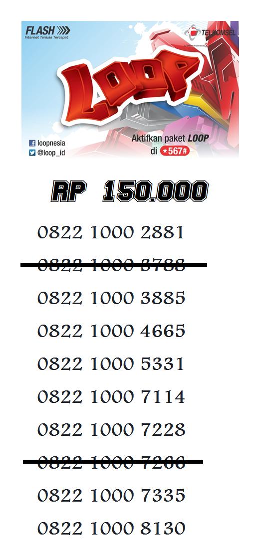Nomor Cantik Simpati Loop by Telkomsel