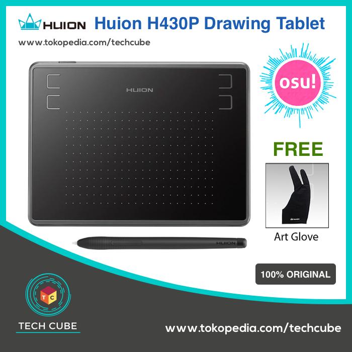 Jual Huion H430P Graphic Drawing Tablet OSU! ( alt huion h420 420 g430 ) -  Jakarta Barat - Tech Cube | Tokopedia