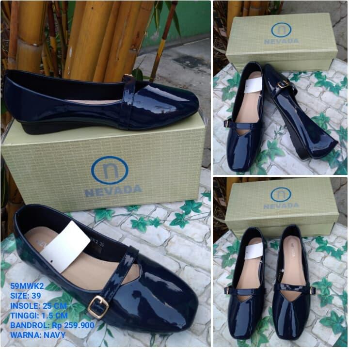 SEPATU WANITA Kerja FLAT Nevada BRANDED MURAH Flat Shoes ... 1a9208a843