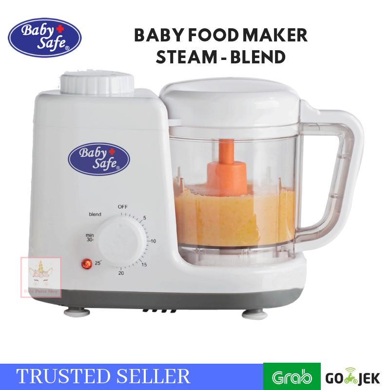Jual Babysafe Blender Steam & Blend / Baby Safe Food Maker - Baby Puree Shop | Tokopedia