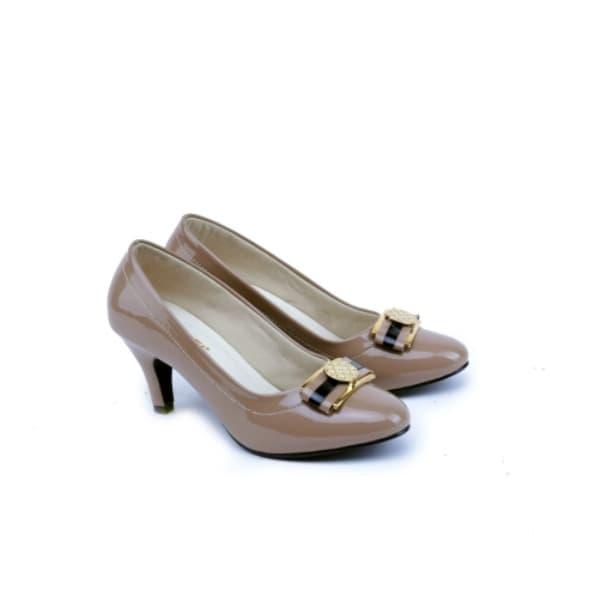 sepatu heels wanita GS sepatu pantofel cewek murah - sepatu kerja cewe 04452a893e