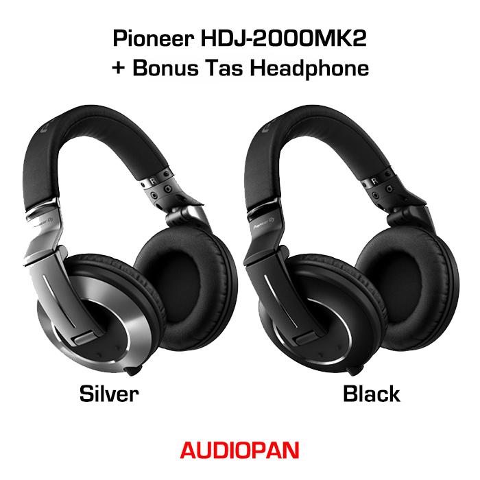 326e00267e0 Jual Pioneer HDJ-2000MK2 / HDJ2000 MK2 - Black - audiopan | Tokopedia