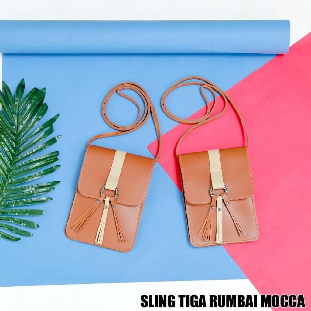 Mini Sling Pouch Rumbay Jual 3 Rumbai Bag Tas Selempang Wanita Murah  Andinta Magaza Tokopedia 6a784ce7dc
