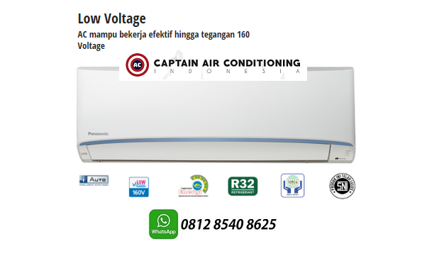 Jual AC SPLIT PANASONIC LN-05TKJ 1/2 PK Low Voltage UNIT