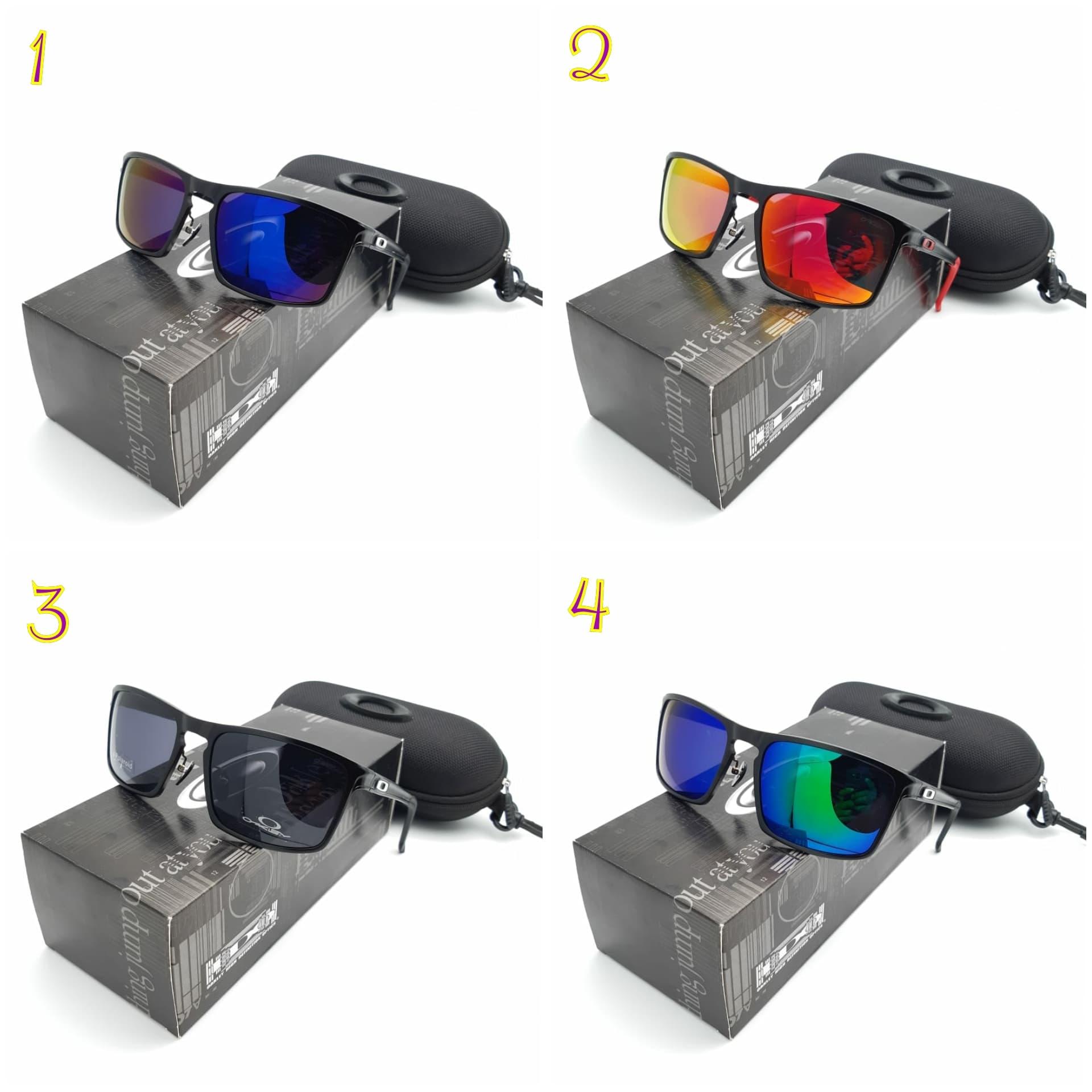 Jual Kacamata Pria Cowok Oakley Sliver Alumunium 9269 Polaroid Super Kehebatan Police Black Dan Update