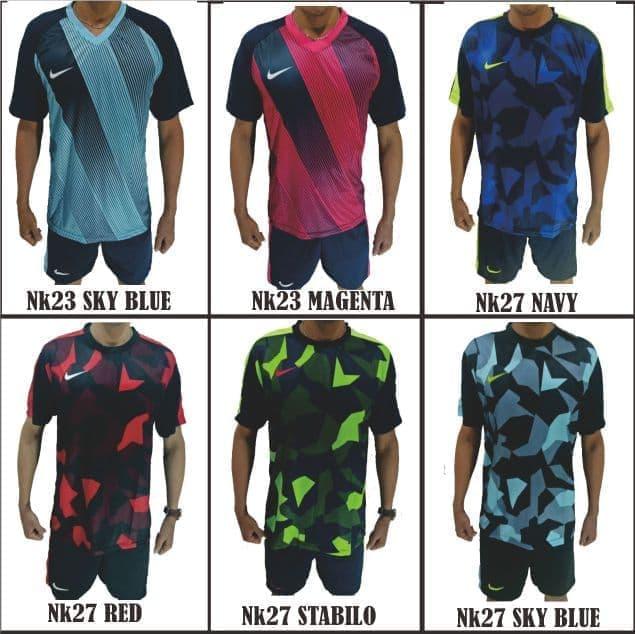 edc80bb985 promo cuci gudang kaos futsal printing baju setelan nike adidas puma