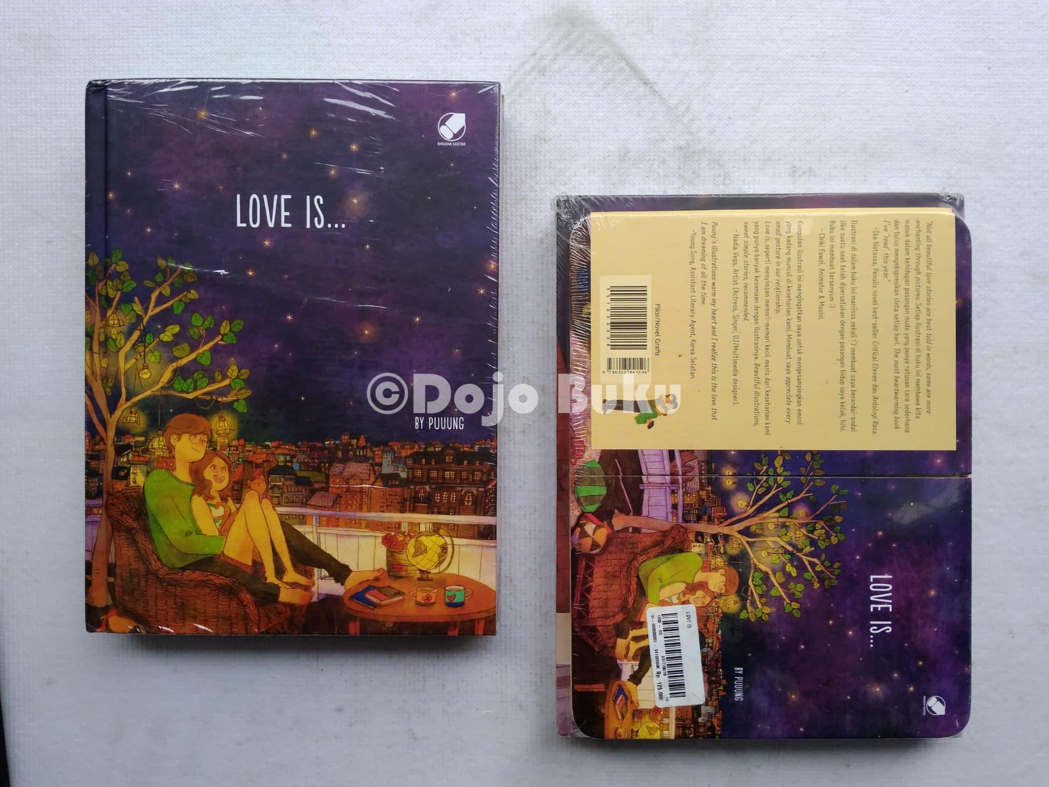 jual love is oleh puuung dojo buku tokopedia